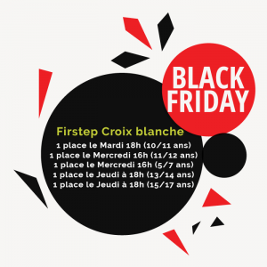 black friday firstep en anglais