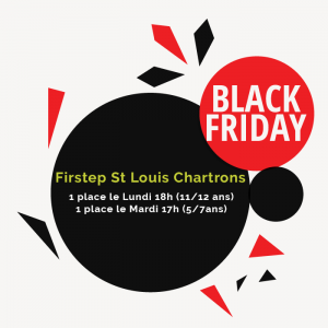 black friday firstep en anglais bordeaux