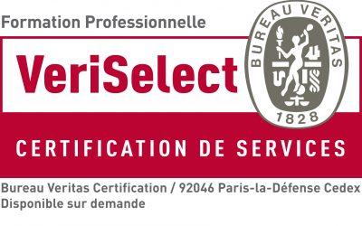 Un centre linguistique certifié Veriselect par le bureau Veritas